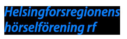 Helsingforsregionens hörselförening
